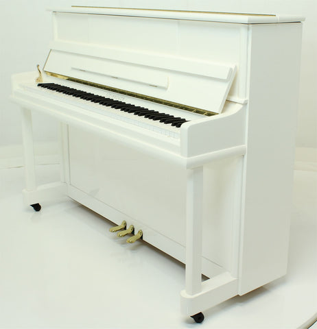 Brand New - Steinhoven High Gloss White Upright Piano