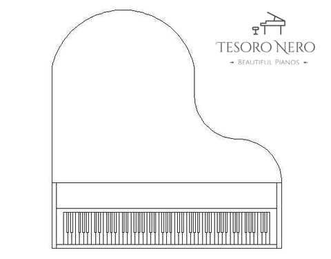 Baby Grand Piano - Piano Cut Out - Make sure it fits