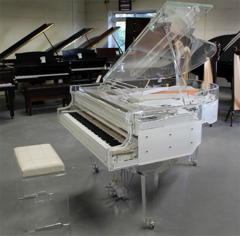 STEINHOVEN SG170 CRYSTAL SELF PLAYING GRAND PIANO