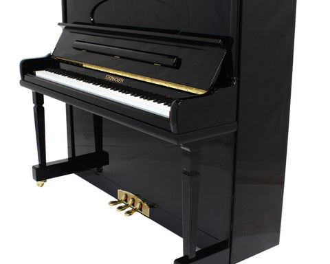 Brand New Steinhoven SU 128 High Gloss Black Upright Piano