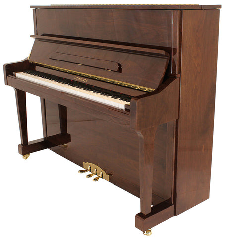 Brand New Steinhoven SU 121 High Gloss Walnut Upright Piano