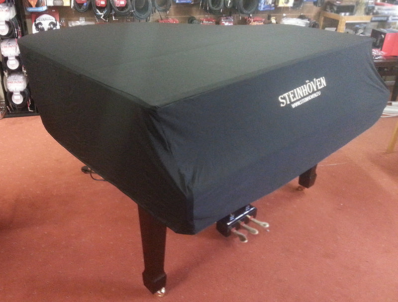 Steinhoven Grand Piano Dust Cover – Black 227cm
