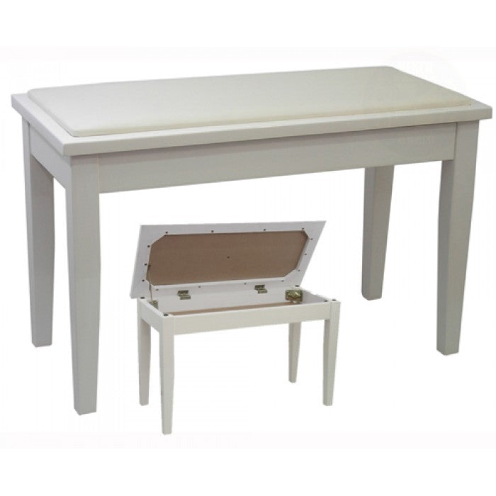 Minueta Double (Duet) Piano Stool With Music Storage Compartment