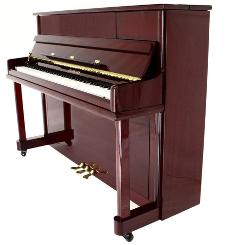 Brand New - Steinhoven High Gloss Mahogany Upright Piano!