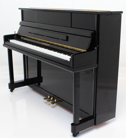 Brand New - Steinhoven High Gloss Black Upright Piano