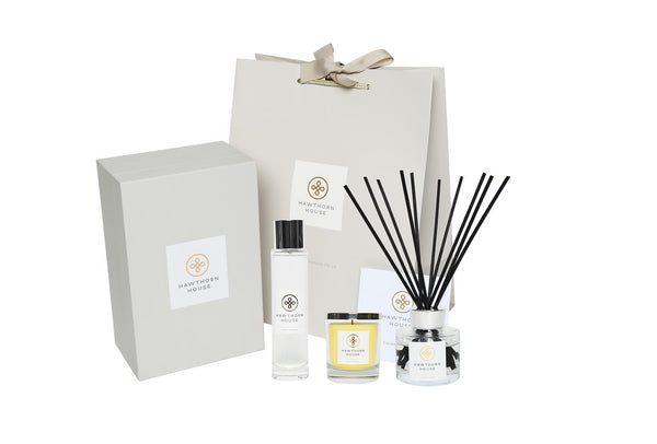 Luxury Gift Set Candle, Diffuser & Cologne