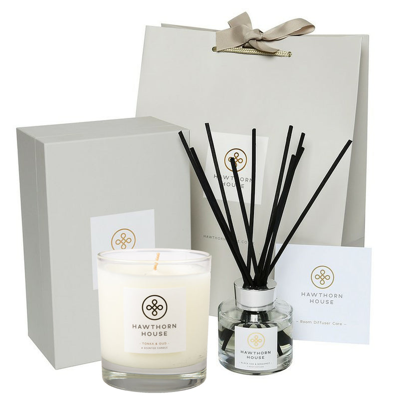 Luxury Gift Set Candle & Diffuser