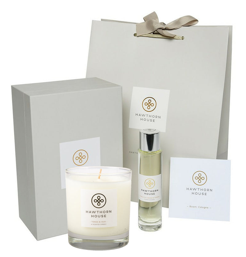 Luxury Gift Set Candle & Cologne