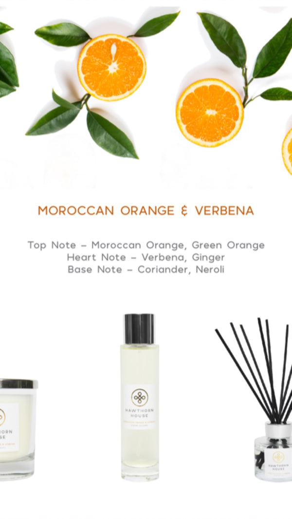 The Moroccan Orange Collection