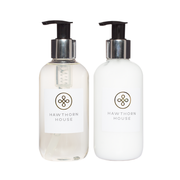 Hand & Body Cleanser & Lotion