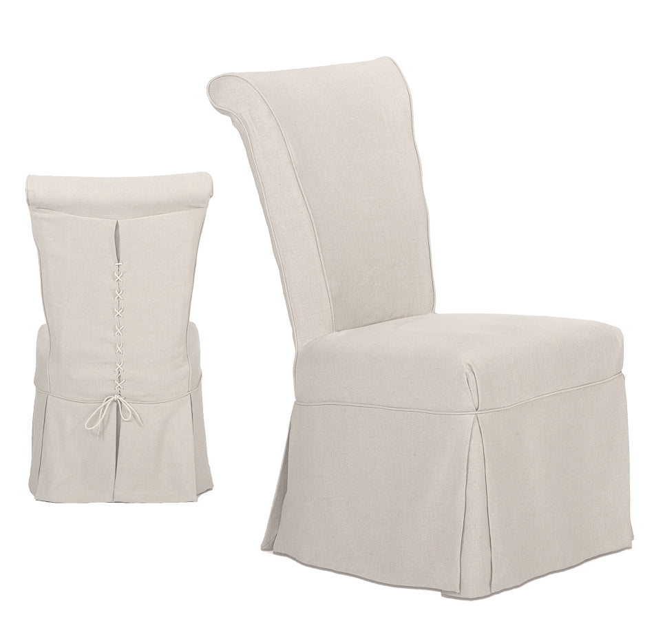 Corseted End Chair
