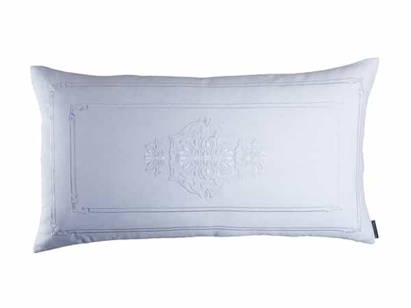 Casablanca King Pillow - White linen / white linen 20X36
