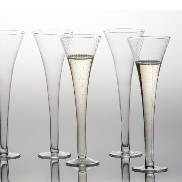 Optic Textured Flutes - Villa Decor Design & Style - 1