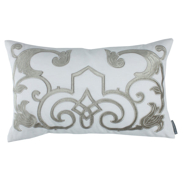 Ice Silver Mozart Pillow - Villa Decor Design & Style - 1