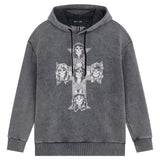 Guns and Roses Cross Washed Hood
