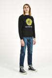 The Stone Roses 'Lemon' Sweatshirt - Black
