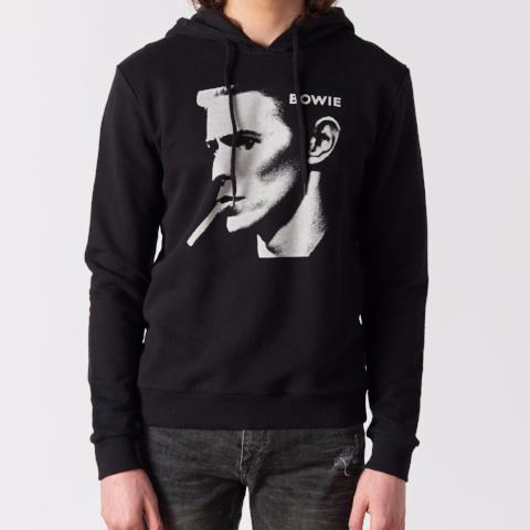 Bowie Portrait Pullover Hood