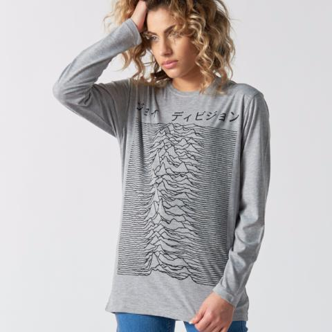 Unknown Pleasures Japan Women's Long Sleeve T-shirt