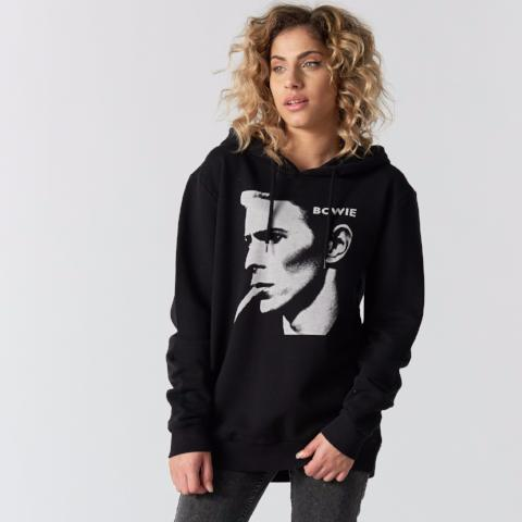 David Bowie Photo Hooded Sweat