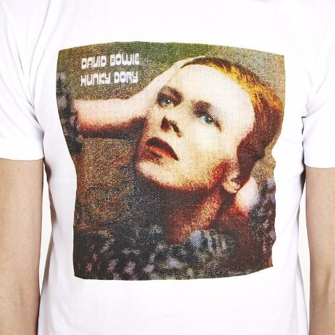 David Bowie 'Hunky Dory' T-Shirt - White