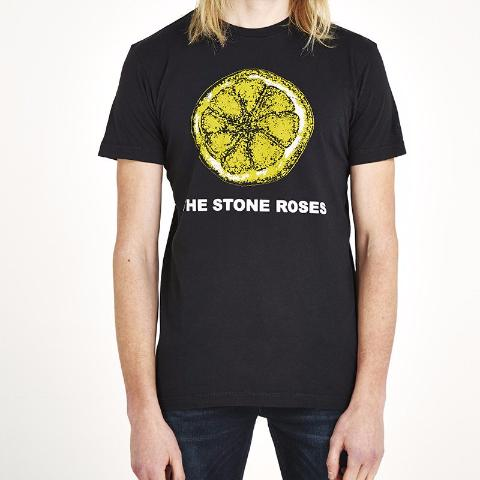 The Stone Roses 'Lemon' T-Shirt - Black