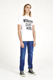 'Working Class Hero' T-Shirt - White