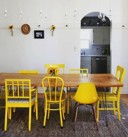 Nailing Mismatched Dining