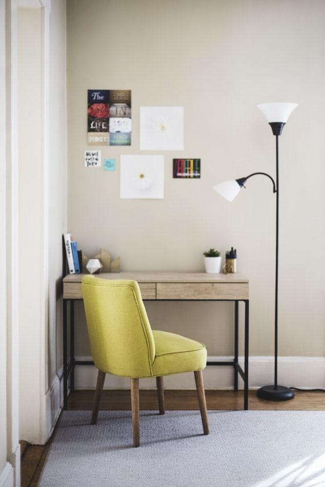 Functional Spaces: Designing a Work From Home Space