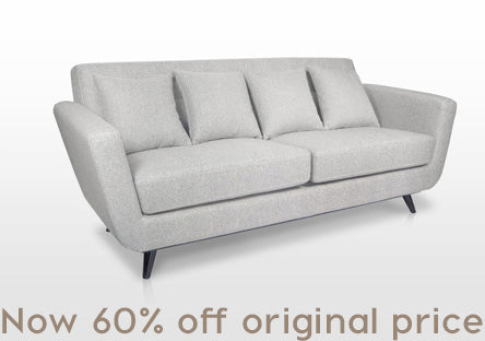 2 Seater Sofa: A modern comfortable sofa with soft cushions to provide instant comfort.