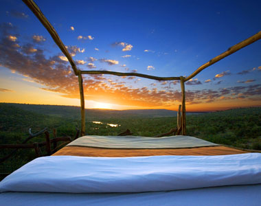 Sleeping under the stars in Kenya