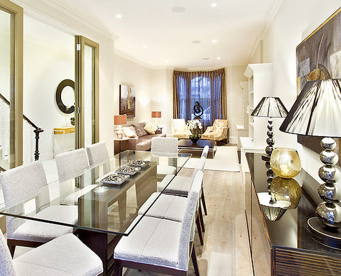 Client Residence: Luxurious Dining Area