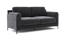 Aubyn 2-Seater Sofa - Dark Grey