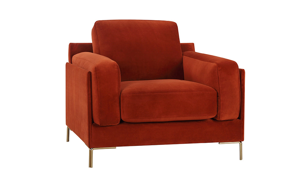 Aubyn Armchair - Red