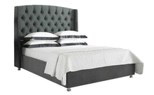 Windsor King Bed - Grey