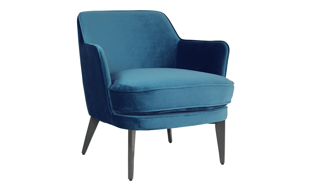 Cyril Armchair - Blue