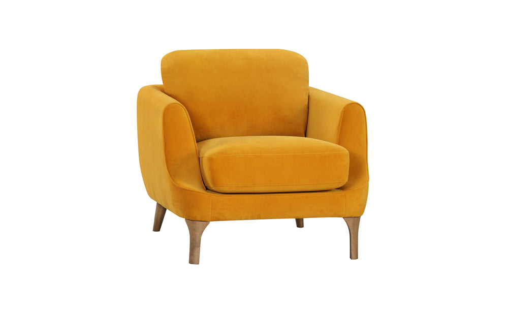 Gustav Armchair - Mustard Yellow