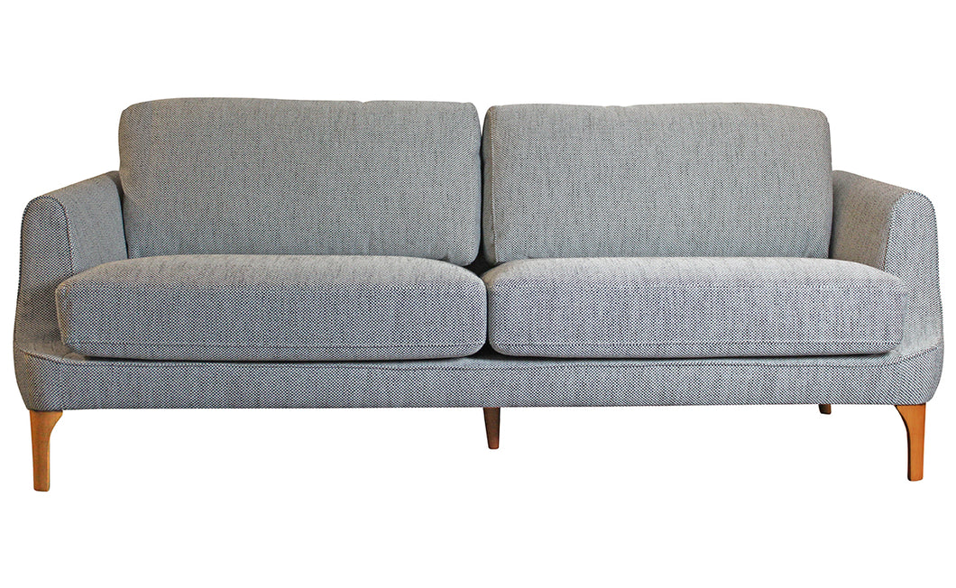 Gustav 3-Seater Sofa - Grey