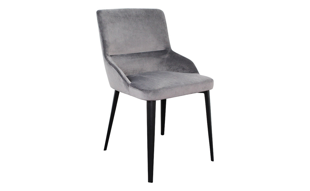Set of 2 Ventura Dining Chairs - Grey