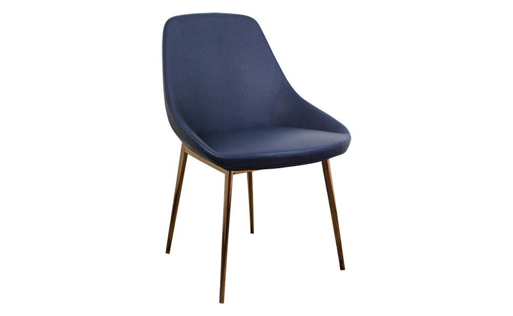 Set of 2 Carina Dining Chairs - Blue