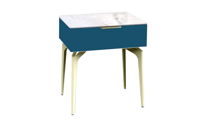 Ida Nightstand - Blue