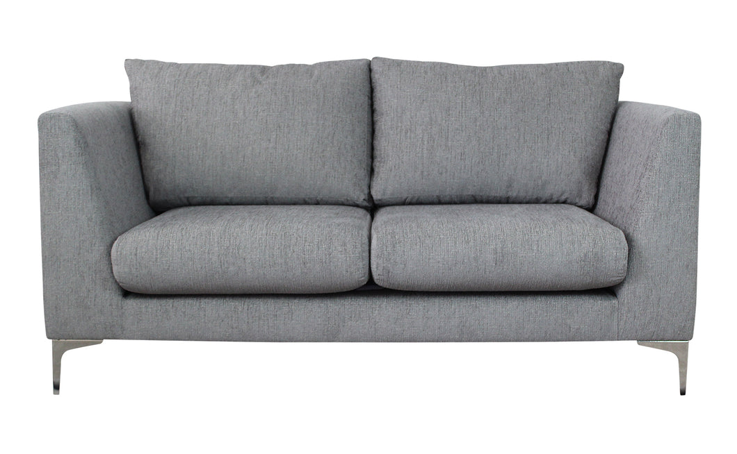 Manhattan 2-Seater Sofa - Nickel