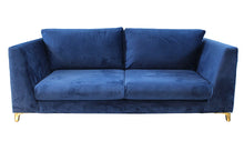 Greenwich 3-Seater Sofa - Marine Blue