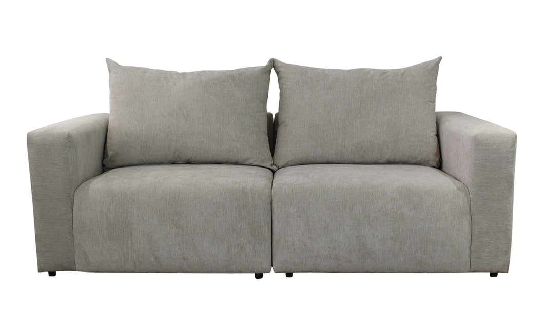 Pulse 3-Seater Sofa - Silver