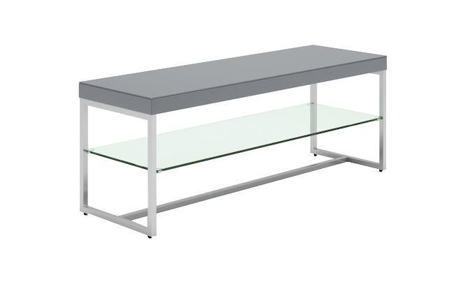 Distinctify Cuba TV Unit - Grey Lacquer