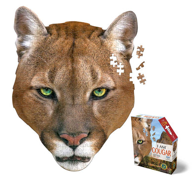 I am Cougar mini puzzle