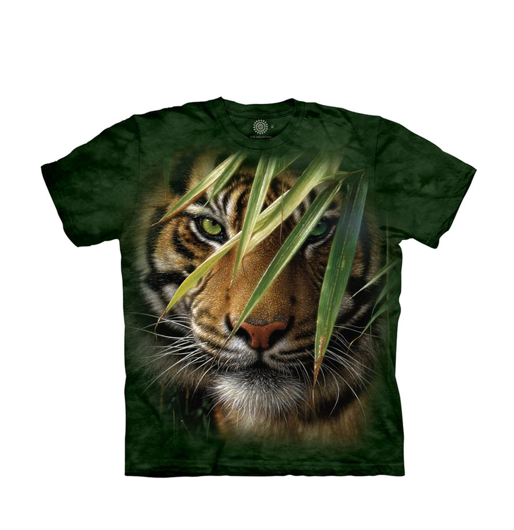 Emerald Forest Tiger Unisex T-Shirt