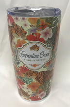 Load image into Gallery viewer, Tiger in Hibiscus Travel Mug
