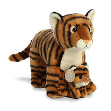 Load image into Gallery viewer, Mama Tiger With Tiger Cub Plush