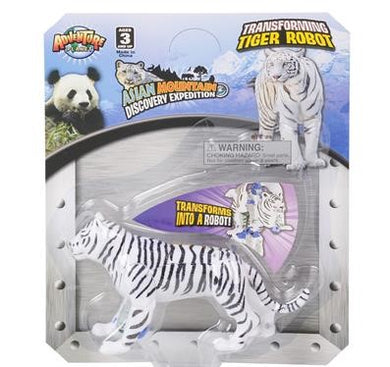 White Tiger Robot Action Figure