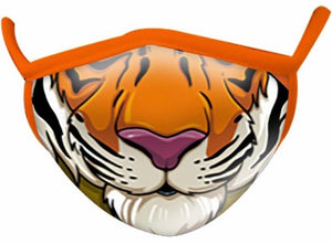 Adult 2-layer Tiger Face Mask